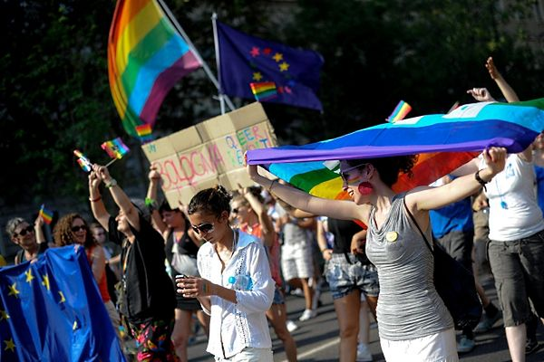 """Gay parade"" w Budapeszcie"