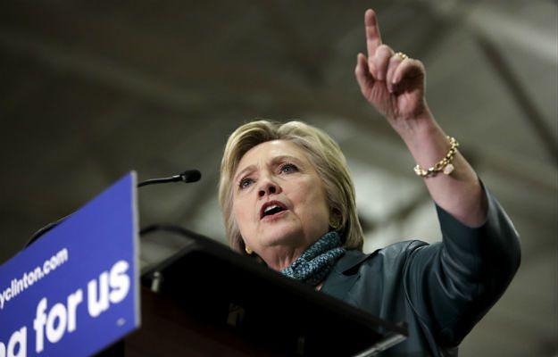 Kandydatka Demokratów Hillary Clinton