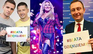 Beata Kozidrak zbiera podziękowania od środowiska LGBTQ