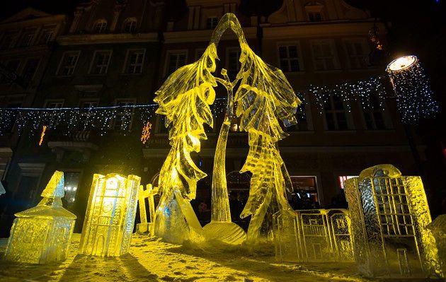 Poznań: VII Międzynarodowy Festiwal Rzeźby Lodowej
