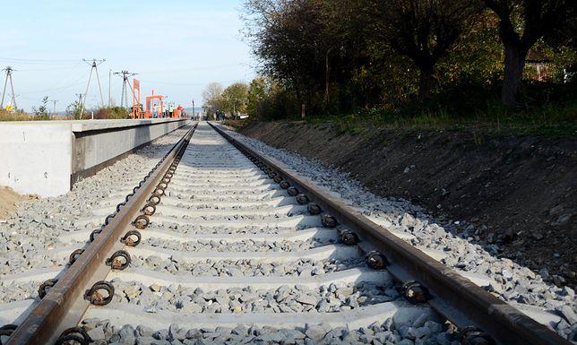 Piotrowice Świdnickie. Rowerzysta zginął pod kołami pociągu. 24-latek zignorował opuszczone rogatki