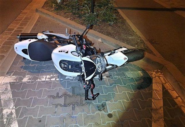 Legnica. Wypadek na trasie do Złotoryi. Motocyklistka w poważnym stanie [zdj. ilustracyjne]