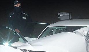 Środa Śląska. Tragiczny wypadek. 49-latek zginął na miejscu
