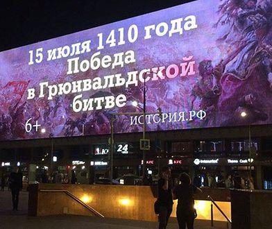 Rosjanie kradną nam zwycięstwo pod Grunwaldem. W Moskwie zawisły oburzające billboardy
