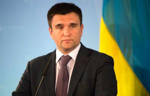 Szef MSZ Ukrainy Pawło Klimkin