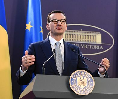 Bukareszt. Premier Mateusz Morawiecki odbył wizytę w Rumunii