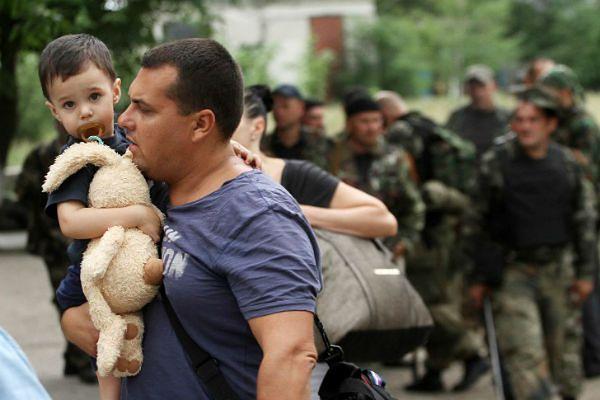 Dzieci ofiarami walk na Ukrainie