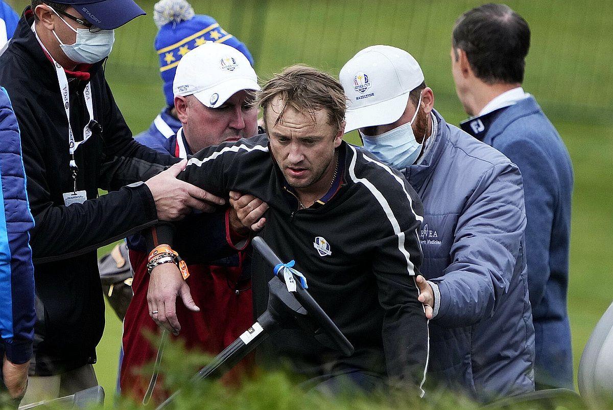 Tom Felton stracił przytomność podczas turnieju golfowego rozgrywanego w ramach Pucharu Rydera