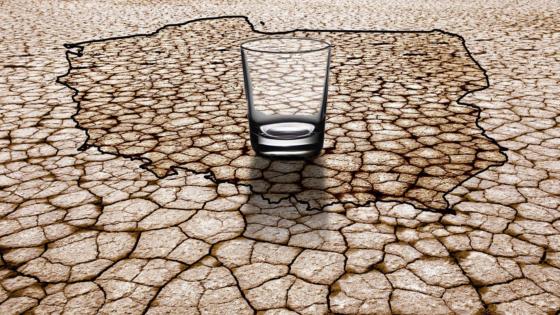 - Zasoby wody przelicza się na jednego mieszkańca. A liczba ludności gwałtownie wzrasta - tłumaczy prof. Kazimierz Banasik