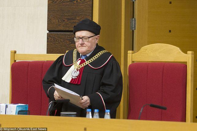 Sędzia Stanisław Biernat był wiceprezes Trybunału Konstytucyjnego w latach 2010-2017