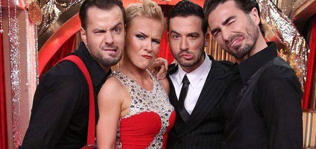 """""""Taniec z gwiazdami"""": Aneta Zając i trzech przystojniaków. Tego kamera nie pokazała!"""