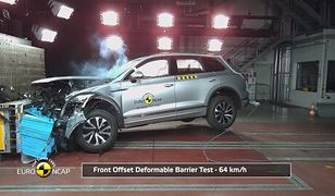 Volkswagen Tuareg 2018 - testy zderzeniowe