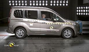 Ford Turneo Connect 2018 - testy zderzeniowe