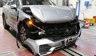 Audi A6 2018 - testy zderzeniowe