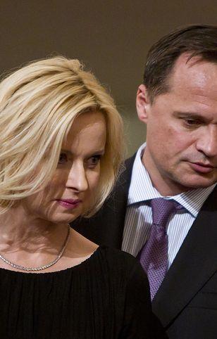 Leszek Czarnecki ze swoją żoną Jolantą Pieńkowską.