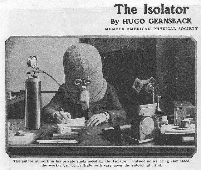 """Izolator - """"niezwykły"""" wynalazek w sam raz do biura"""