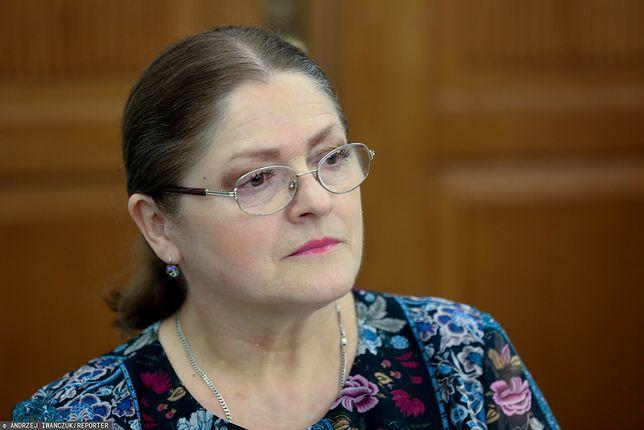 Krystyna Pawłowicz o transpłciowym dziecku. Prokuratura odmawia wszczęcia śledztwa