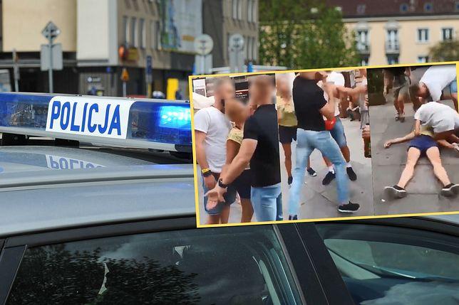 Brutalne pobicie w Katowicach. Skatował kobietę na imprezowym deptaku