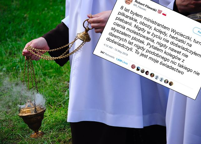 """Film Tomasza Sekielskiego. """"Byłem ministrantem. Obozy, herbatki na plebanii"""". Coraz więcej wyznań"""