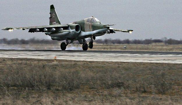 Katastrofa rosyjskiego Su-25. Pilot nie żyje