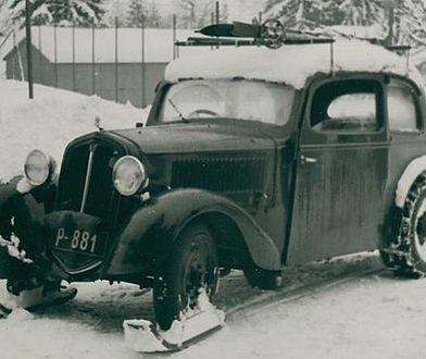 Czeski poskramiacz śniegu sprzed 80 lat