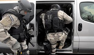 Policja nie podaje, ile osób zostało zatrzymanych