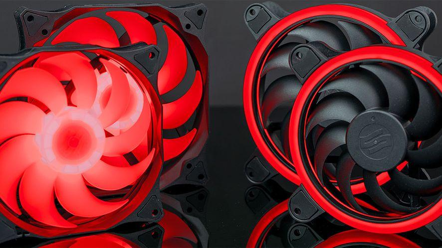 SIlentiumPC Corona HP RGB (po prawej) już w rozmiarze 140 mm (foto: materiały prasowe SilentiumPC)