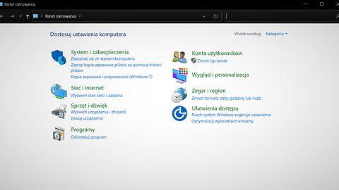 Windows 10: czas żegnać się z Panelem sterowania. Microsoft eksperymentuje z przekierowaniami