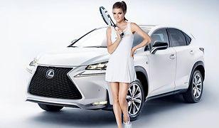 Spotkanie zmysłowej kobiecości z nowoczesną technologią i nowego Lexusa NX