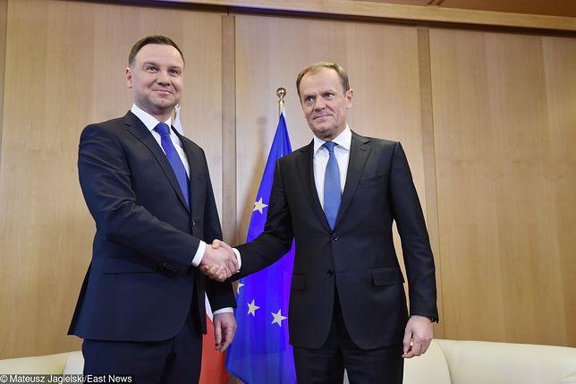Wizyta Prezydenta RP Andrzeja Dudy w Brukseli.
