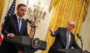 Prezydent Andrzej Duda w Białym domu, 18 września 2018 roku.