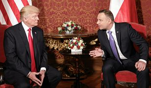 Prezydenci Donald Trump i Andrzej Duda