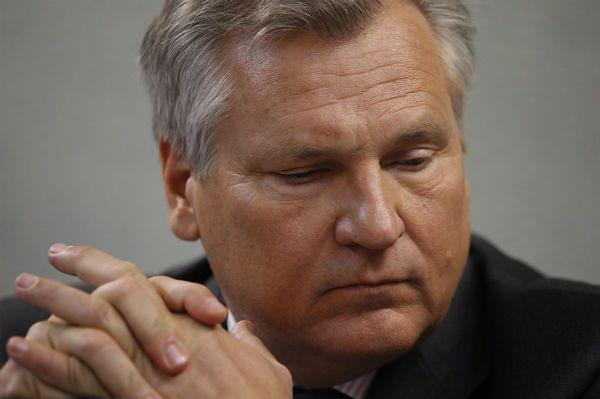 Aleksander Kwaśniewski robi interesy z ludźmi Wiktora Janukowycza
