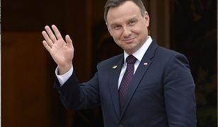 """Role się odwróciły. """"Fot. Prezydent Andrzej Duda"""""""