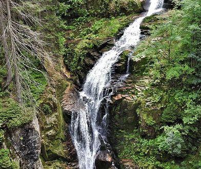 Karkonosze. Popularny wodospad zamknięty dla turystów. Wszystko przez prace konserwacyjne