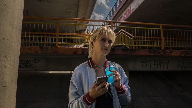 """Marta Nieradkiewicz w serialu """"Ultraviolet"""""""