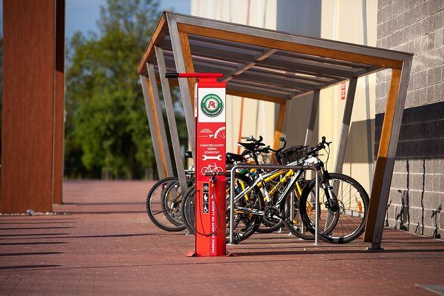 Kolejne samoobsługowe stacje naprawy rowerów!