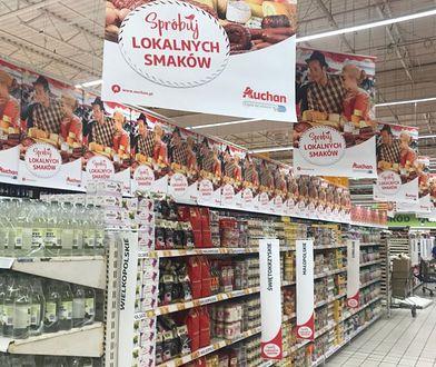 Półka na specjały z Wielkopolski, półka na specjały z Podlasia. Hipermarkety odkrywają regionalne przysmaki