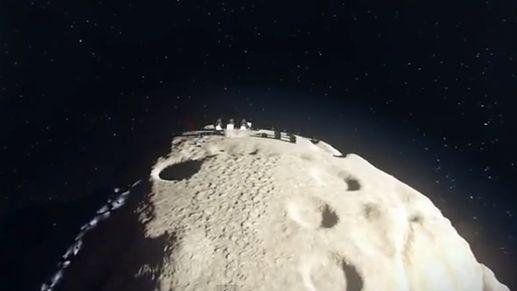 Jedna asteroida, jeden lądownik, cała masa wrogów. Mam nadzieję, że ta gra powstanie
