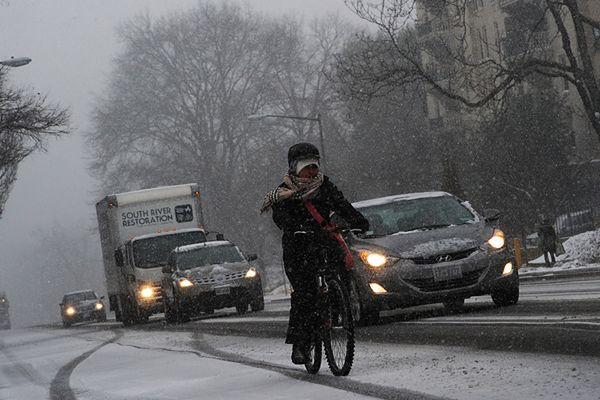 Zima dotarła na południe Polski