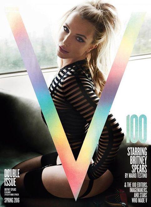 """Britney Spears na trzech okładkach """"V Magazine"""""""