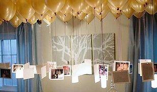Wybierz dekoracje, których usunięcie i przywrócenie salonowi codziennego wyglądu to chwila moment