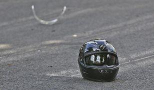 Wadowice Górne. Tragiczny wypadek. 22-letni motocyklista nie żyje