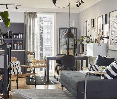 Jak urządzić małe mieszkanie? Inspiracje IKEA