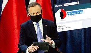 Andrzej Duda ma nowe konto. Dołączył do użytkowników Albicla