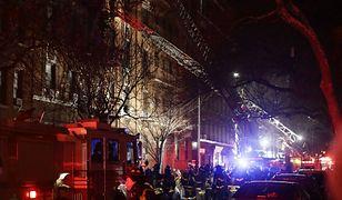 Najtragiczniejszy pożar w Nowym Jorku od 25 lat