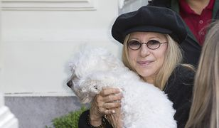 Barbra Streisand ze swoim ukochanym pupilem, Sammie'm (oryginałem)