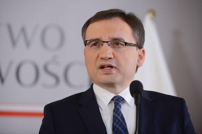 Zbigniew Ziobro ma wiele do zarzucenia rządom poprzedniej ekipy