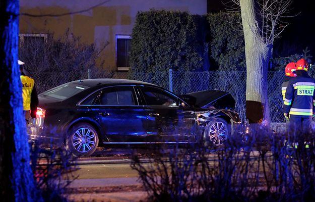 Oświęcim: wypadek kolumny rządowej, w jednym z aut jechała premier Beata Szydło