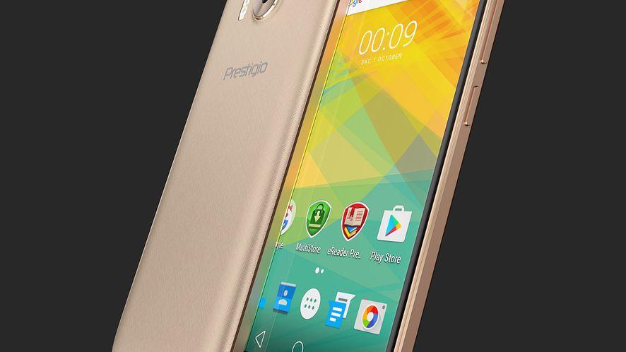 Prestigio Grace R7 – tani smartfon z niezłą kamerą i skanerem linii papilarnych już w sprzedaży